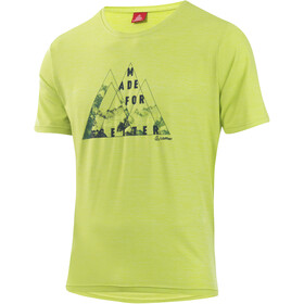 Löffler Softtouch CF T-shirt à motif Homme, light green